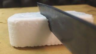 Hot Knife vs. Styrofoam