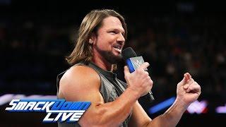 AJ Styles accepts Shane McMahon