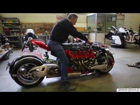 Lazareth LM847 TEST & SOUND V8 Maserati Powered