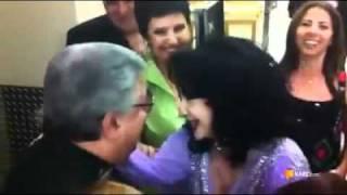 ملاقات صمیمانه گلپا و حمیرا در کنسرت لاس وگاس .mp4