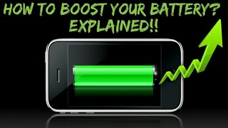 HOW TO BOOST YOUR BATTERY IN Bengali ..??