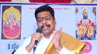 "Sri.Venkatesh Bhat-Vedanta Scholar- ""Ishavasyam MidamSarvam""- Vedanta Vakyartha. in Kannada."