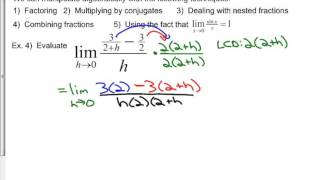 Math 611B Chapter 2 Concept Roundup (Limits and Continuity)