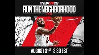 NBA 2K18 #RUNTHENEIGHBORHOOD