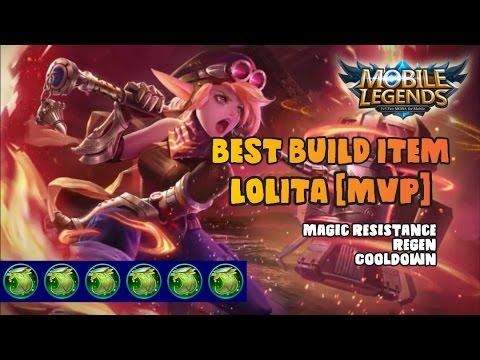 Mobile Legends : MVP with Lolita NoDead |HD