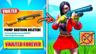 Top 10 VAULTED Fortnite Guns RANKED WORST TO BEST! (PUMP REMOVED)