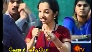 Sowmya's talk in Visuvin Arattai Arangam