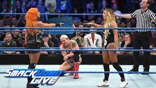 Becky Lynch vs. James Ellsworth: SmackDown LIVE, Nov. 7, 2017