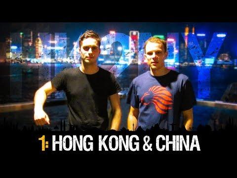 HK2NY Ep 1 Backpacking in Hong Kong & China