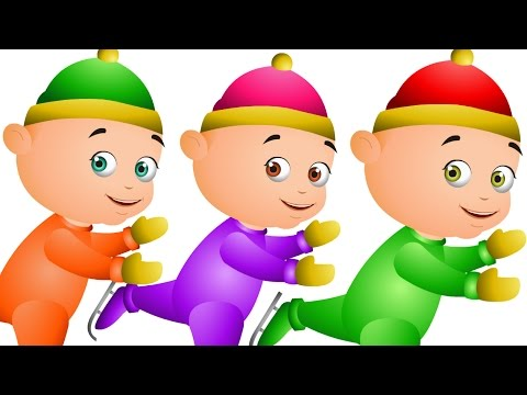 Five Little Babies Skating In Ice Nursery Rhymes Collection For Babies JamJammies