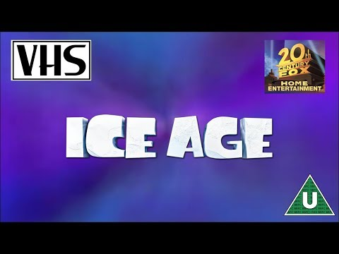 Opening to Ice Age UK VHS 2002