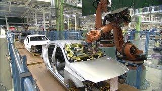 Mercedes A-Class Production line