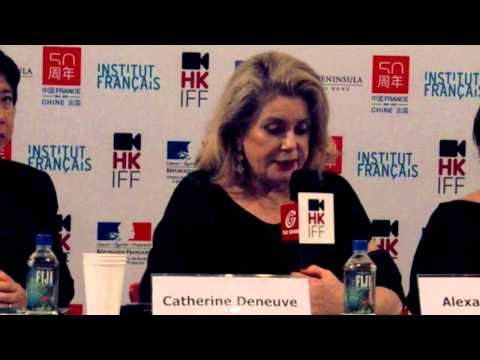 Catherine Deneuve in HKIFF 2013 Q and A