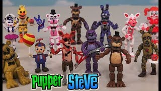 Five Nights at Freddy's FnaF ALL Collectable FUNKO Sets Ultimate Checklist Vinyl Figures Mini