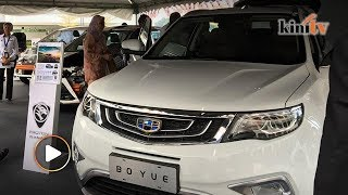 Proton-Geely's Boyue SUV makes an appearance at Parliament