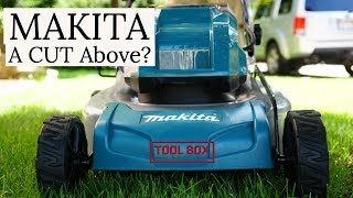 Makita 18V X2 Cordless Lawn Mower XML03 Review