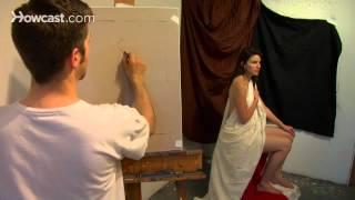 Como desenhar uma mulher nua