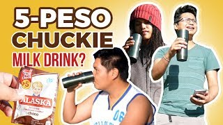 5-Peso Chuckie Milk Drink? | Alaska Chocolate Condensed Creamer Review [Barato Blog]