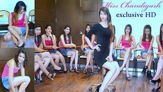 Miss Chandigarh 2016 Finalist Girl Contestants' Makeovers