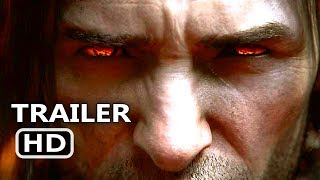 SHADOW OF WAR Official Extended Trailer (2017) The Lord Of The Rings New Game HD