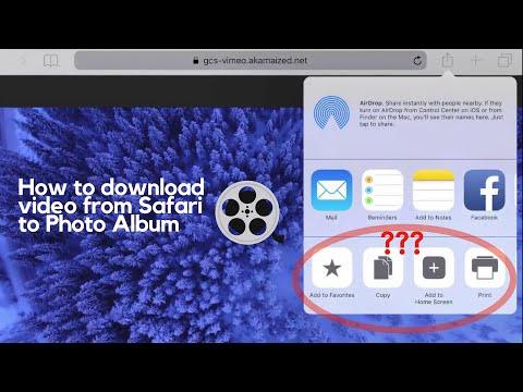 Xxx Mp4 How To Easily Download Videos From Safari To Photo Album IOS 11 Amp IOS 12 3gp Sex