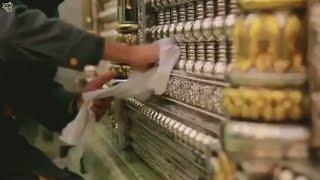 (Gusl) Cleaning Roza Imam Ali - Najaf   with Ali Ali Dam Ali Ali Manqabat