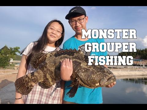 MONSTER GROUPER FISHING| BARELANG FISHING