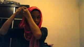 Cara memakai shawl