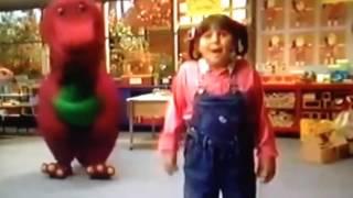 Barney comes to life (Camp WannaRunaRound)
