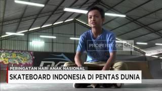 Sanggoe, Skateboard Cilik Yang Harumkan Nama Indonesia di Pentas Dunia