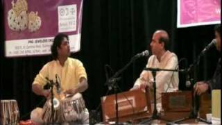 amjad ali kawa playing tabla with legendary suresh wadikhar- surmai shaam is tarah