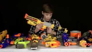 Nerf Rifles Comparison Part 1 - Which Should I Get?