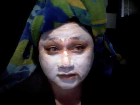 Cum facial mask