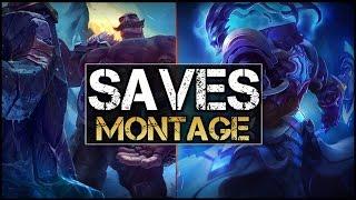 Best Saves Montage - League Of Legends