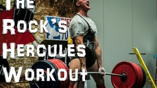 The Rock's Hercules Workout & Diet: Should You Try It? - Neil @ Stronger+Leaner