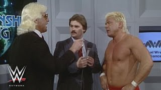 WWE Network: Ron Garvin issues a challenge to Ric Flair: NWA Wrestling, Dec. 21, 1985