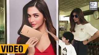 Shilpa Shetty's Son Loves Deepika Padukone & Calls Mumma 'Silly'   LehrenTV