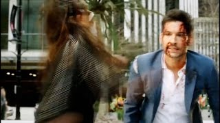 Lucifer 2x17 Lucifer & Maze  Bloody Fight - You Gonna Leave Me Season 2 Episode 17