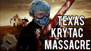 Texas KRYTAC Massacre |  Airsoft Nation Gameplay at Temple, Texas (KRYTAC SPR MK2 Airsoft Gun)