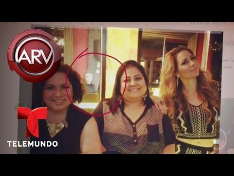 Ven fantasma de Jenni Rivera en foto de Cristina Eustace Al Rojo Vivo Telemundo