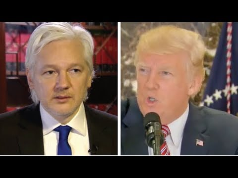 THE SHOCKING THING JULIAN ASSANGE JUST GAVE TO TRUMP WILL BRING DOWN THE DEMOCRATIC PARTY!