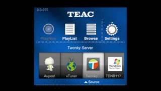 Video Tutorial für myWAP App von TEAC