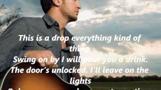 Luke Bryan Crash My Party with Lyrics