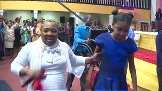 SHOCKING! YOUNG GIRL WALKS OUT OF WHEEL CHAIR! | PROPHETESS MATTIE NOTTAGE