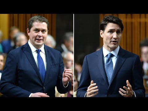 Full exchange: PM Justin Trudeau, Andrew Scheer on Butts' resignation