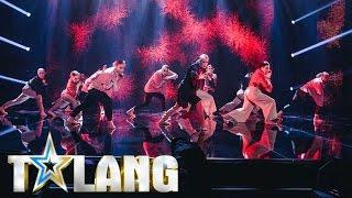 Wildcardet The Sugar Collective bjuder på avskalat nummer i finalen av Talang 2017 - Talang (TV4)