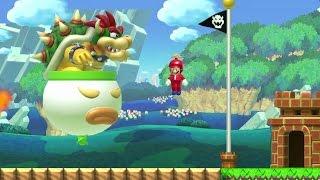 Super Mario Maker - 100 Mario Challenge #124 (Expert Difficulty)