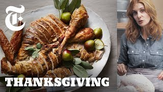 Roast Turkey With Garlic and Anchovies | NYT - A Melissa Clark Thanksgiving