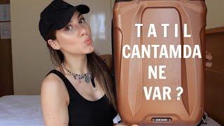 Valiz Açıyoruz ! Seyahat Çantamda Ne Var ?