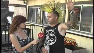 Jake Casualty Warped Tour 2010 Interview for UTV